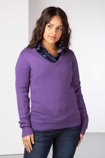 Orchid - Fine Knit Sweater