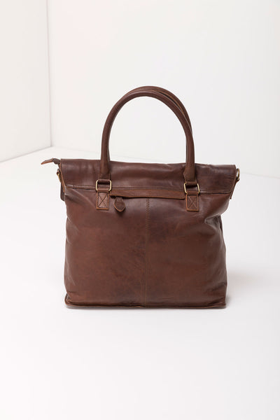 Brown - Verity Leather Bag
