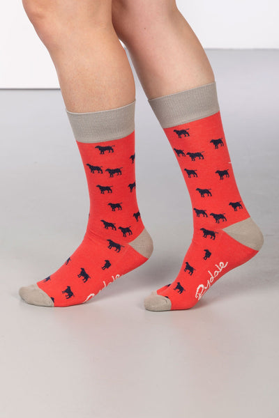 Cherry - Wagging Dog Ankle Socks
