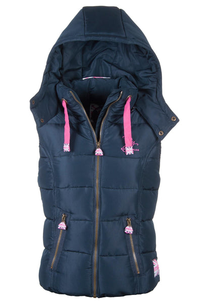Navy - Wansford Hooded Rydale Gilet
