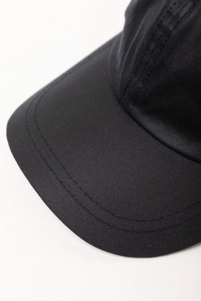 Navy - Waxed Cotton Baseball Cap