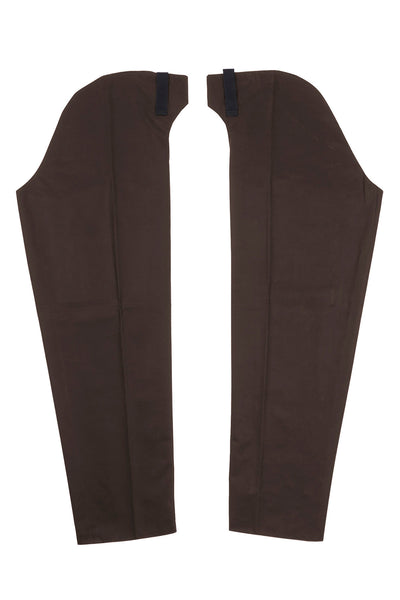 Brown - Waxed Cotton Chaps