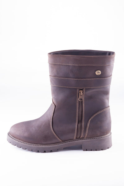 Oak - Welburn Short Leather Boot