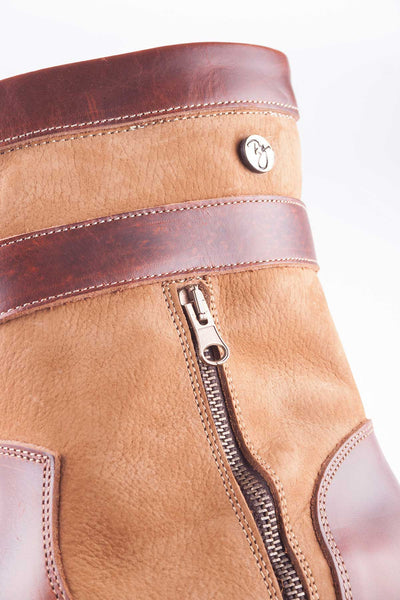 Toffee - Welburn Short Leather Boot