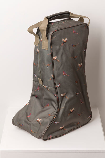 Pheasant Sage - Wellington Boot Carrier