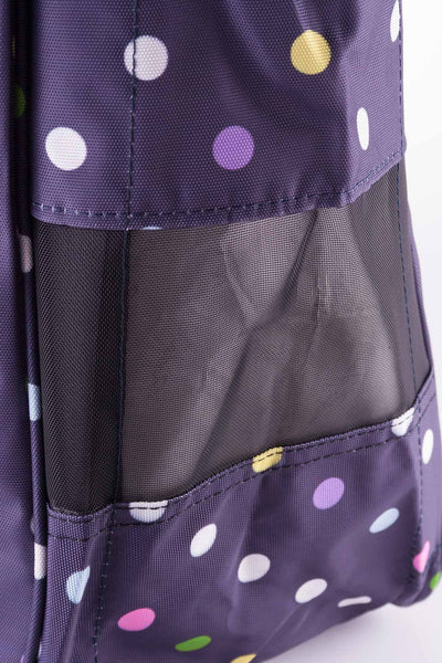 Polka Navy - Rydale Wellington Boot Carrier