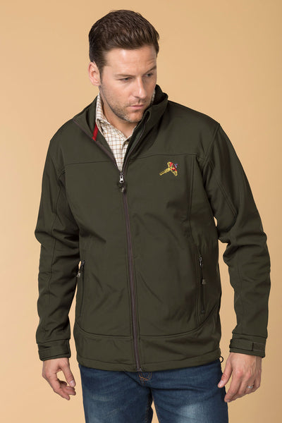 Dark Olive - Mens Westow Softshell Jacket