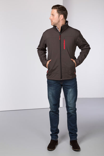 Gunmetal - Mens Westow Softshell Jacket