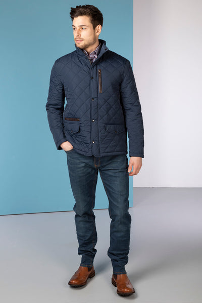 Ink - Wetherby II Quilted Jacket