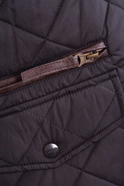 Black - Wetherby Quilted Jacket