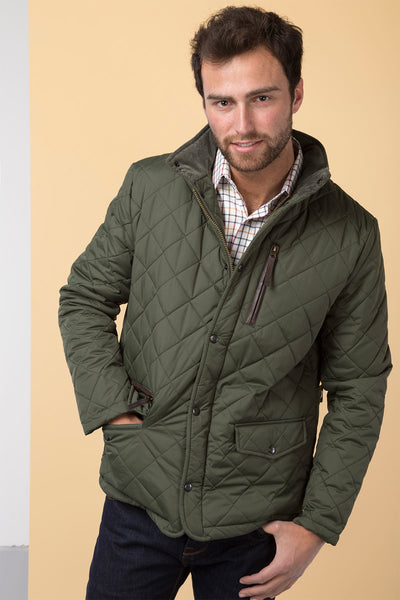 Rydale Mens Wetherby Diamond Quilted Jacket : quilted jacket for mens - Adamdwight.com