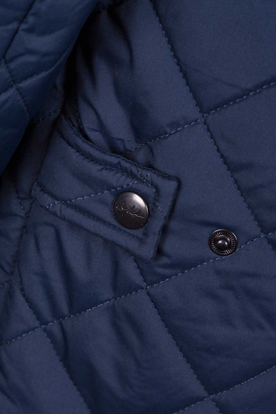 Navy - Wetherby Quilted Jacket