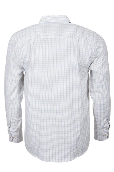 Wetherby White - White Check Long Sleeved Shirt