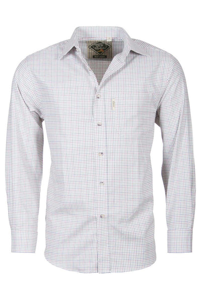 Lisset White - Graph Check Shirt