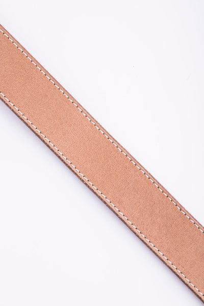 Willow Cross Keep Leather Belt - Tan