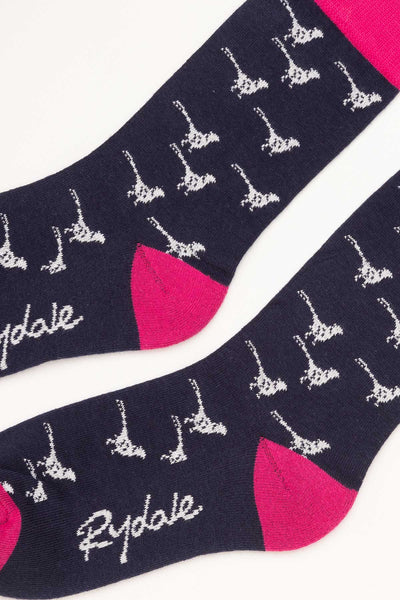 Navy - Wistow Ankle Socks