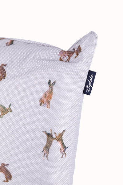 Hare Thistle - Wistow Large Country Print Cushion
