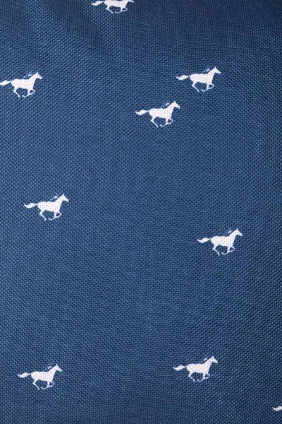 Horse Navy II - Wistow Large Galloping Horse Cushion
