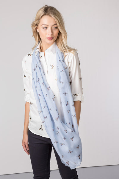 Flying Duck Haze - Ladies Wistow Printed Floaty Scarf