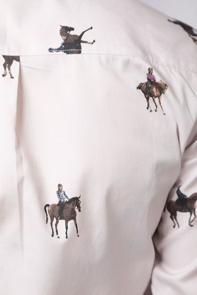 Giddy Up - Ladies Wistow Printed Shirt