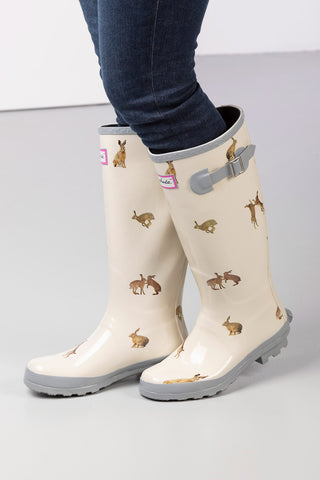Hare Thistle - Wistow Wellington Boots