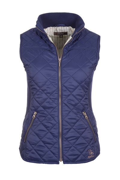 Navy - Ladies Wrelton Quilted Gilet