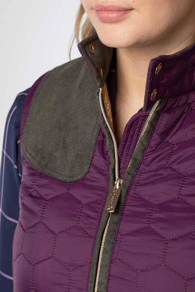 Berry - Ladies Quilted Gilet - Wrelton II