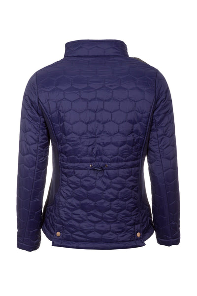 Navy - Ladies Quilted Jacket - Wrelton II