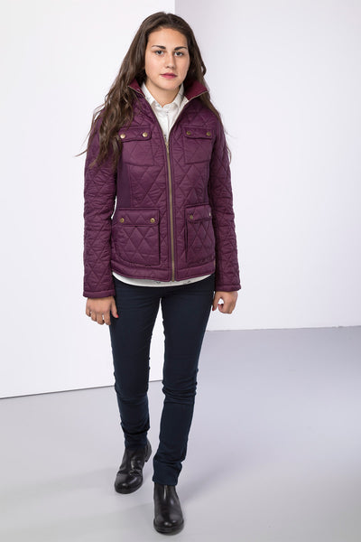 Berry - Ladies Wrelton Quilted Jacket