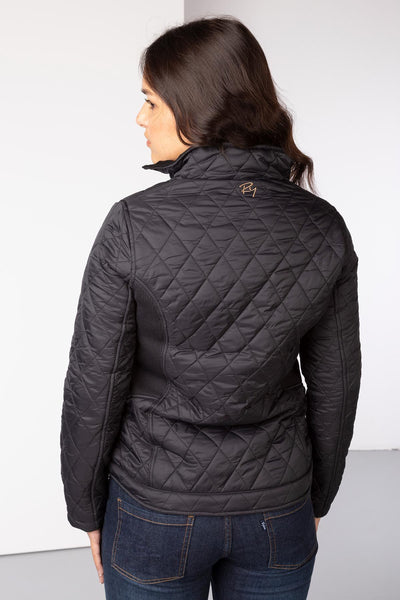 Black - Ladies Wrelton Quilted Jacket