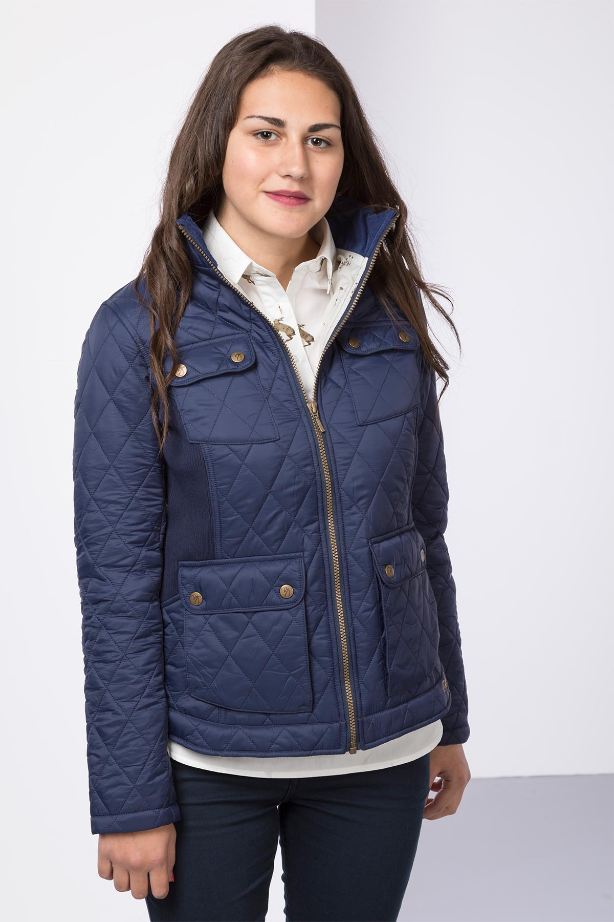 coats red jacket faux quilted jackets aspen hooded fur quilt coat