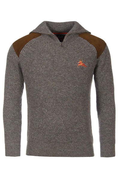 Derby Pheasant - Zip Neck Shooting Sweater