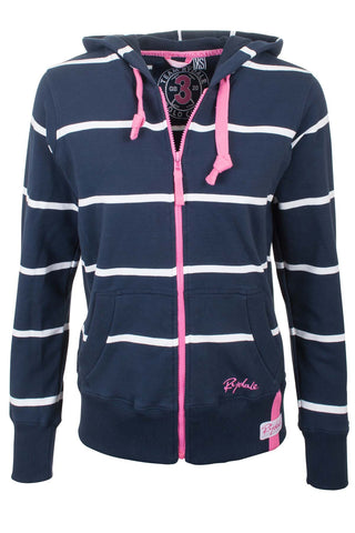 Navy / White - Rydale Full Zip Hoody