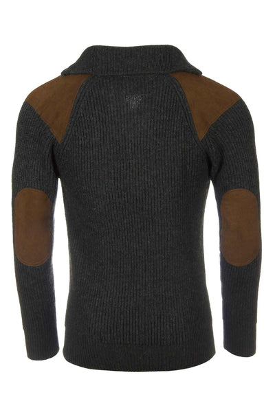 Olive Pheasant - Gentlemens Thick Shooting Sweater