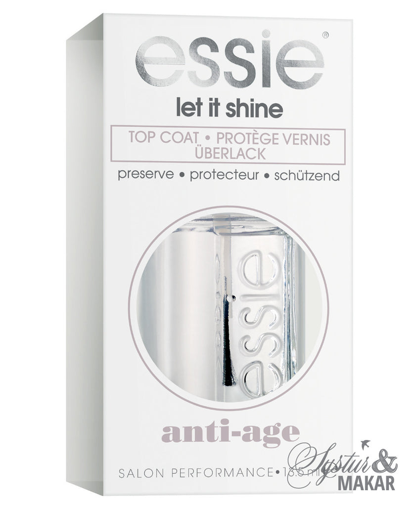 Essie - Let it Shine - topcoat