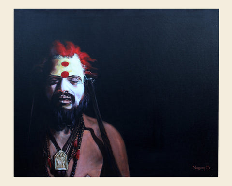 Naga Sadhu-2 painting l Artiliving Online Art & Home Decor