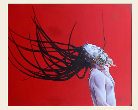 Naga Sadhu-3 painting l Artiliving Online Art & Home Decor