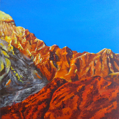 Golden Mountain-II l Artiliving Online Art & Home Decor