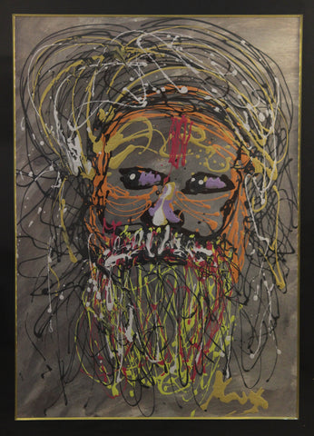 Sadhu portrait l Artiliving Online Art & Home Decor