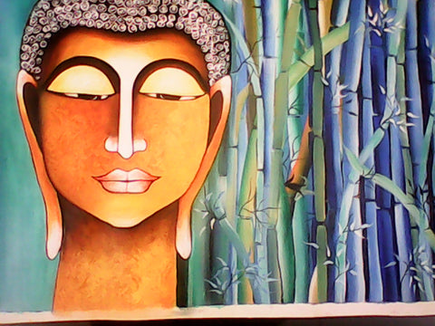 Bodhi painting l Artiliving Online Art & Home Decor