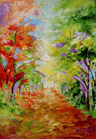Colors in nature painting l Artiliving Online Art & Home Decor