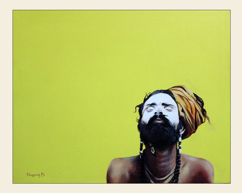 Naga Sadhu-1 painting l Artiliving Online Art & Home Decor