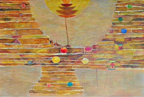 Good morning Varanasi painting l Artiliving Online Art & Home Decor