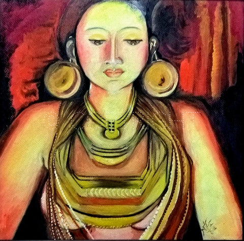 Mohenjo-Mohenjo: Artwork using Watercolors l Artiliving Online Art & Home Decor