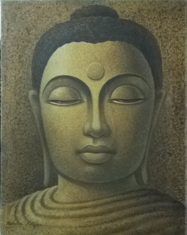Lord Buddha painting l Artiliving Online Art & Home Decor