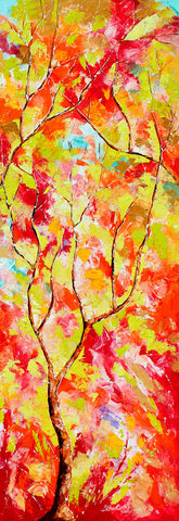 Season red painting l Artiliving Online Art & Home Decor