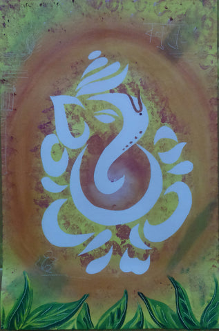 Ganpati painting l Artiliving Online Art & Home Decor