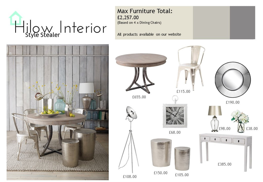 Style stealer industrial chic hilow interior ltd - Style industriel chic ...