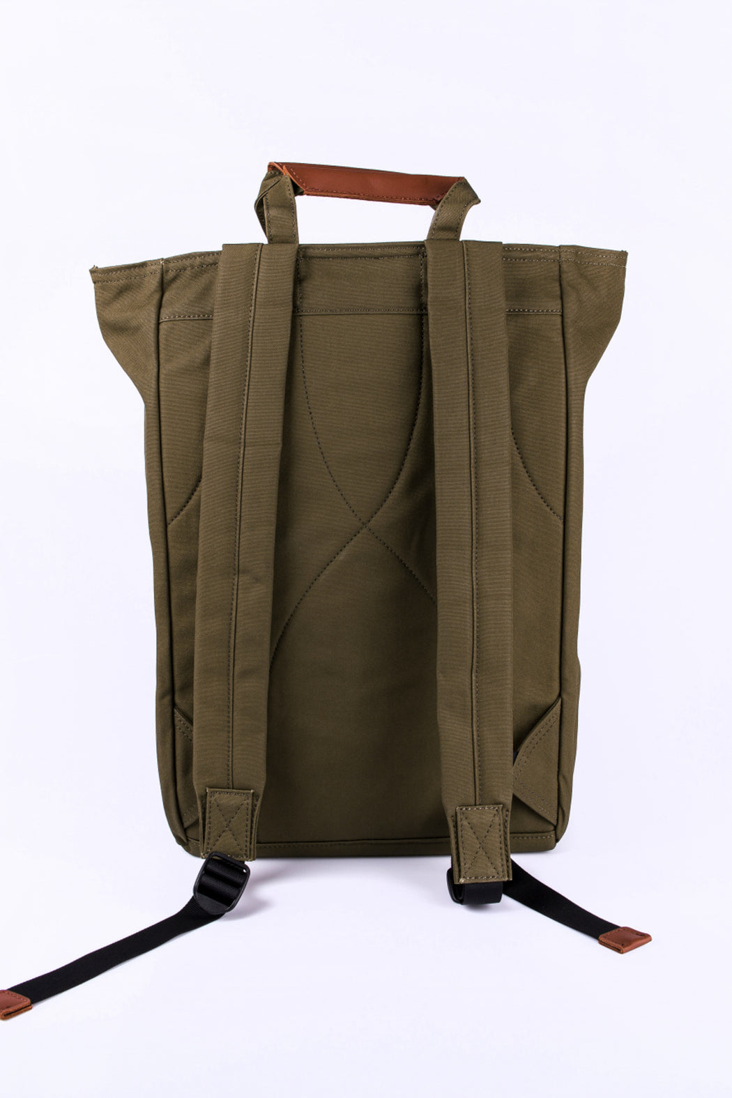 TONY Backpack/Tote bag olive brown