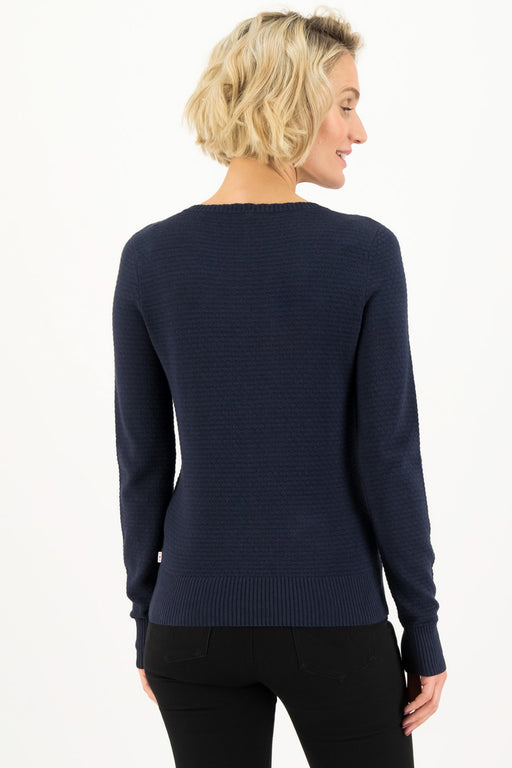 CHIC MYSTIQUE Pullover suited in blue